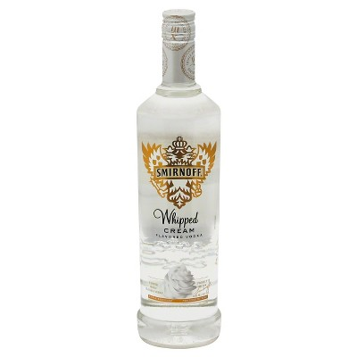 Smirnoff Whipped Cream Flavored Vodka - 750ml Bottle