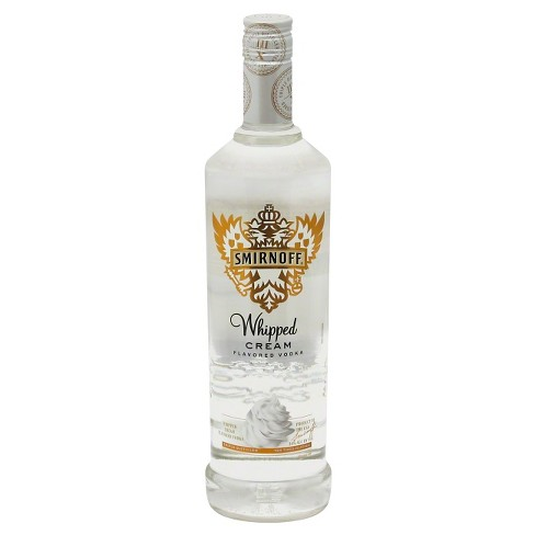 Smirnoff® Whipped Cream Vodka - 750mL Bottle - image 1 of 1