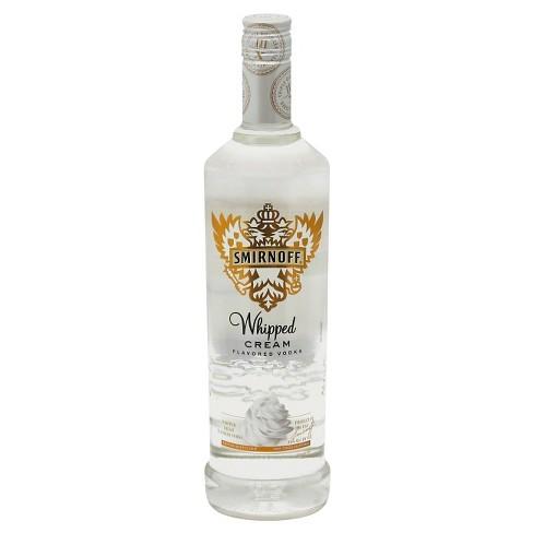 Smirnoff® Whipped Cream Vodka - 750mL Bottle : Target