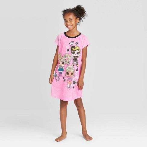Girls' L.O.L. Surprise! Nightgown - image 1 of 3