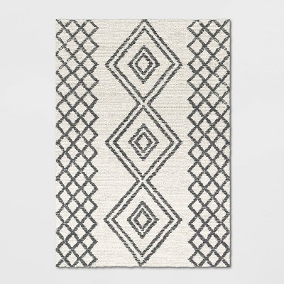 7'X10' Hand Tufted Rug Off-White - Project 62™