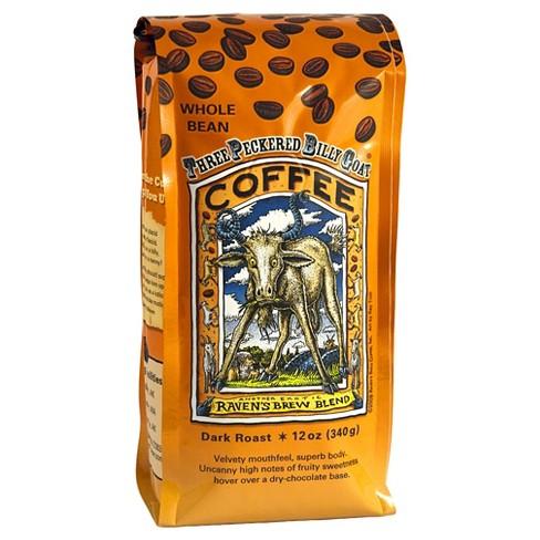 Raven's Brew Blend Dark Roast Whole Bean Coffee - 12oz - image 1 of 1