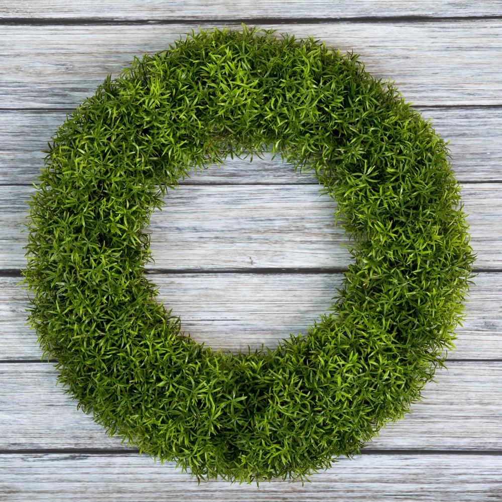 """Image of """"Round Grass Wreath 20"""""""" - Pure Garden"""""""