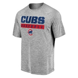 MLB Chicago Cubs Men's Flying Leap Athleisure T-Shirt