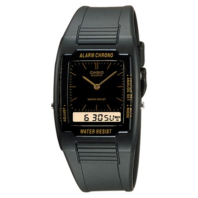 Casio Men's Classic Ana-Digi Watch - Black (AQ47-1E)