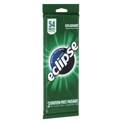 Eclipse Spearmint Sugar-Free Gum - 54ct