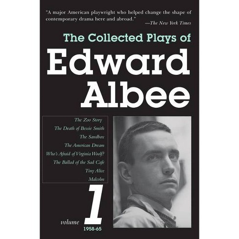 The Collected Plays of Edward Albee, Volume 1 - (Paperback) - image 1 of 1