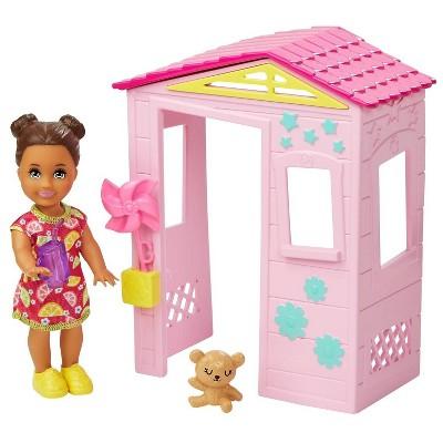 Barbie Skipper Babysitters Inc. Playhouse Playset