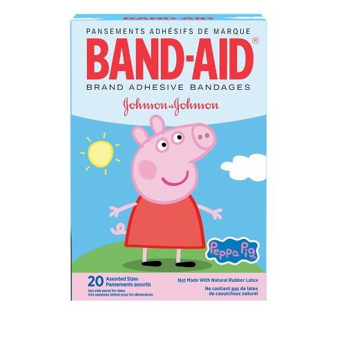 Band-Aid Adhesive Peppa Pig Bandages - 20ct - image 1 of 4