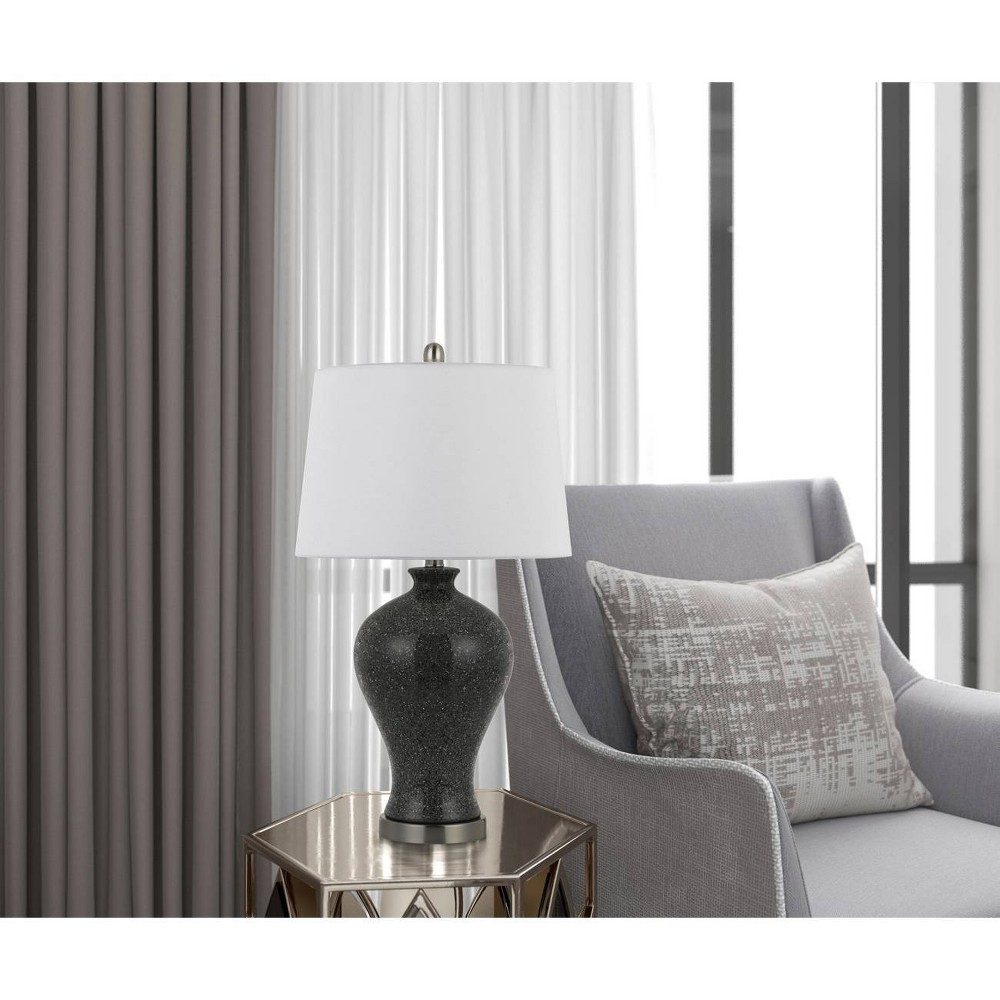 Image of 100W Megaraceramic Table Lamps Marble (Set Of 2) (Lamp Only) - Cal Lighting
