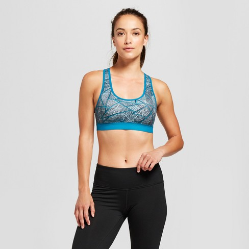 f7b1df488cf Women s Medium Support Power Core® Compression Racerback Sports Bra - C9  Champion®