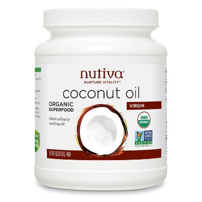 Nutiva Virgin Organic Coconut Oil - 54oz
