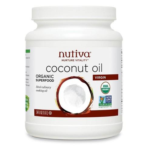 Nutiva Virgin Organic Coconut Oil - 54oz - image 1 of 3