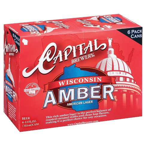 Capital® Amber - 6pk / 12oz Cans - image 1 of 1