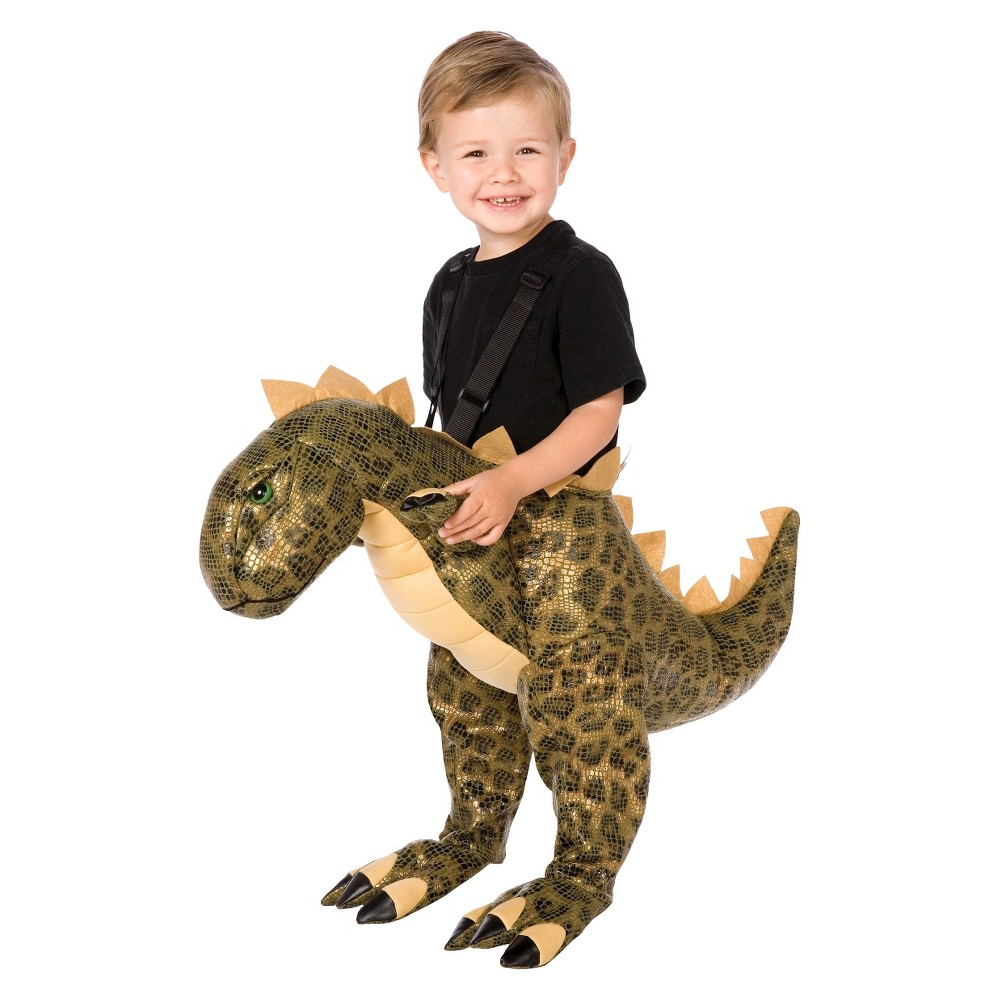 Kids' Plush T-Rex Costume One Size, Boy's