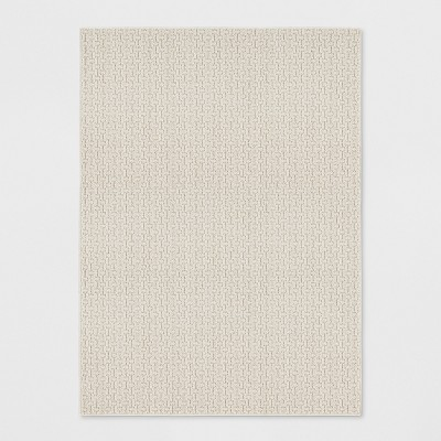 Tan Solid Washable Accent Rug 4'X5'6  - Made By Design™