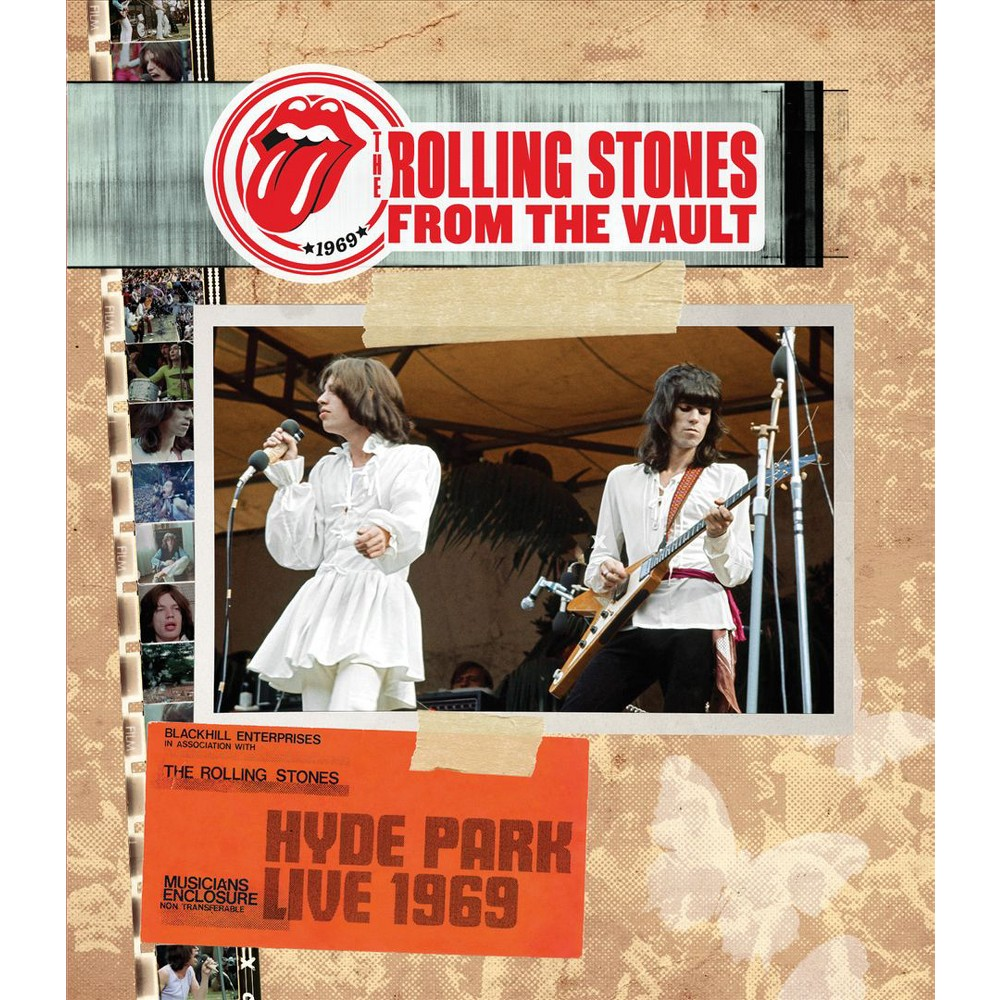 From The Vault:Hyde Park 1969 (Dvd)