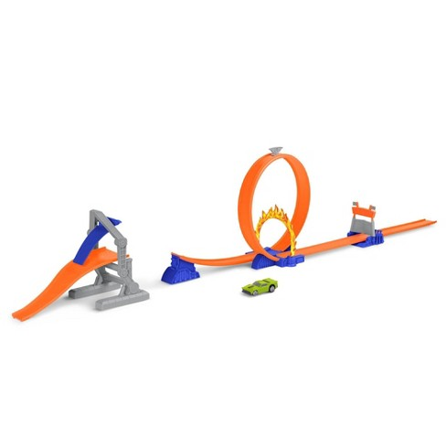 DRIVEN by Battat Turbocharge Stunt Jump Extreme Racing Loop - image 1 of 4