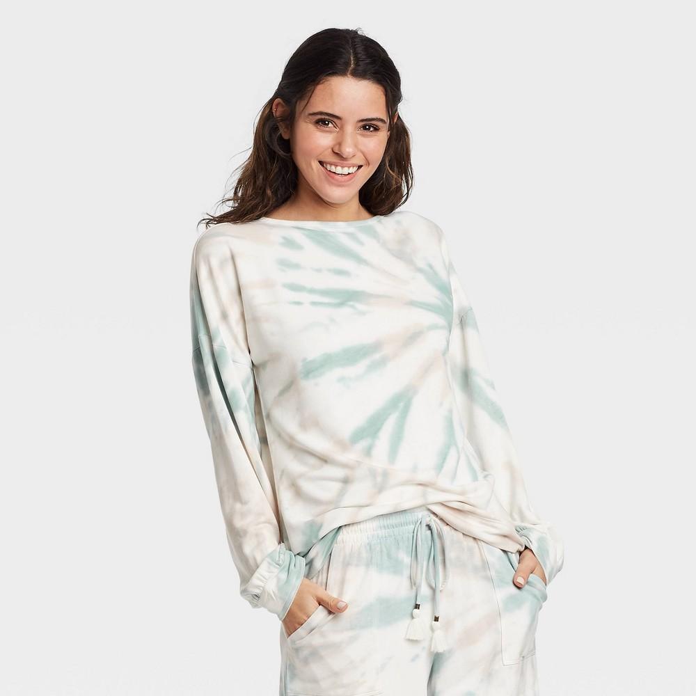 Women 39 S Tie Dye Sweatshirt Knox Rose 8482 Green S