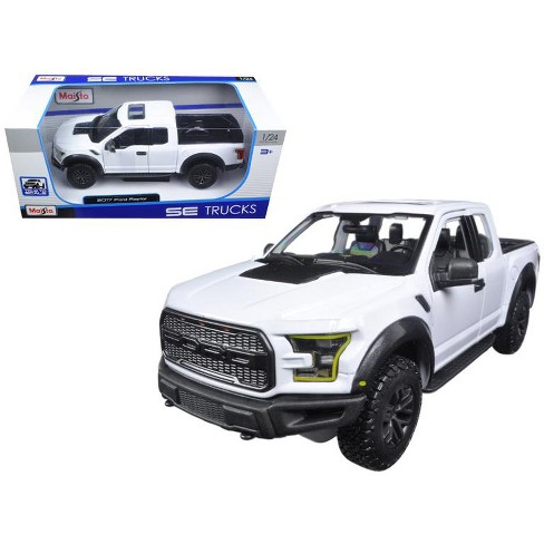 2017 Ford Raptor Pickup Truck White 1 24 Cast Model Car By Maisto Target