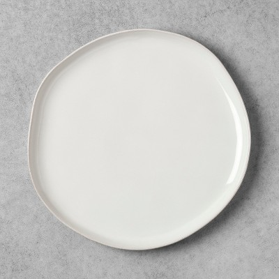 Stoneware Dinner Plate - Cream - Hearth & Hand™ with Magnolia