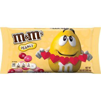 M&M's Valentine's Day Peanut Chocolates - 10.0oz