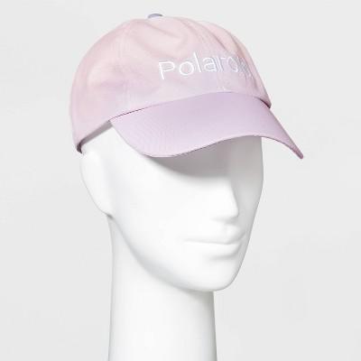 Women's Polaroid Ombre Baseball Hat - Pink/Purple One Size