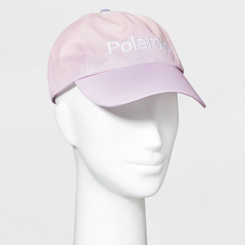 Women's Polaroid Ombre Baseball Hat - Pink/Purple One Size - image 1 of 2