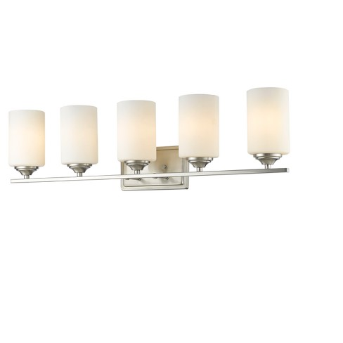 Vanity Wall Lights with Matte Opal Glass (Set of 5) - Z-Lite - image 1 of 1