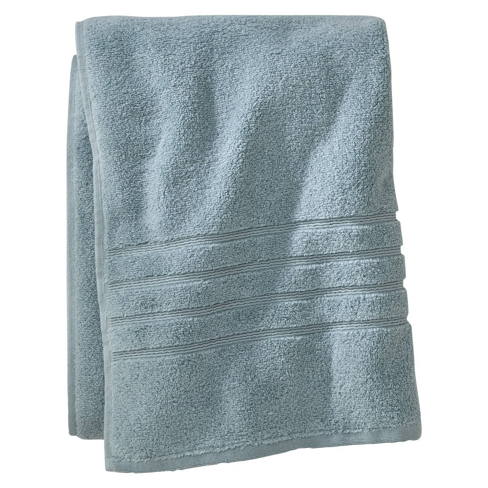 Luxury Bath Towel Aqua Spill Fieldcrest 8482