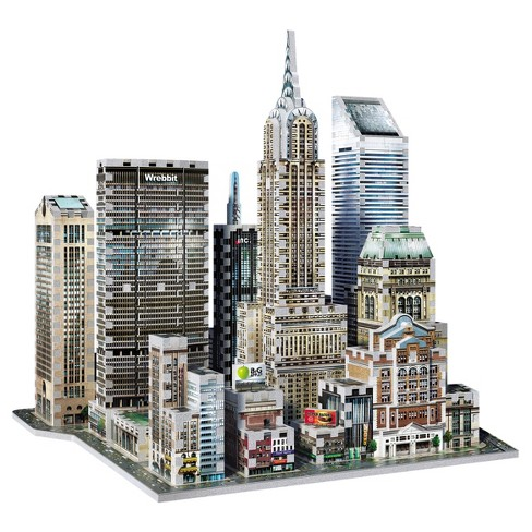 Wrebbit 3D - 2010 Midtown East New York 3D Puzzle 875pc - image 1 of 6