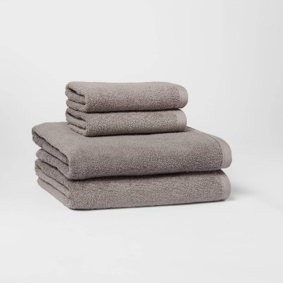 4pc Bath Towel/Hand Towel Set - Room Essentials™