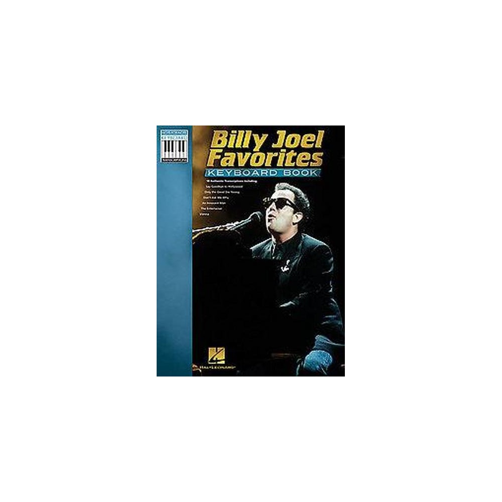 Billy Joel Favorites Keyboard Book (Paperback)