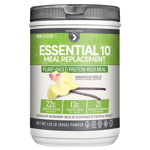 Designer Protein Essential 10 Madagascar Protein Powder Vanilla
