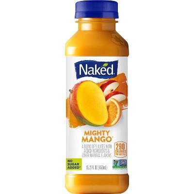 Naked Mighty Mango All Natural Vegan Fruit Juice Smoothie - 15.2oz