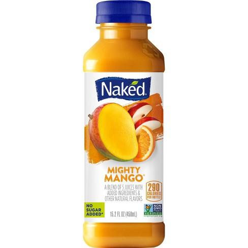 Naked Mighty Mango Fruit Juice Smoothie - 15.2 fl oz Bottle - image 1 of 4