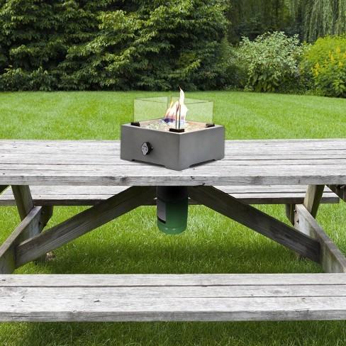 Sierra Concrete Table Top Fire Pit - Sunbeam - image 1 of 4