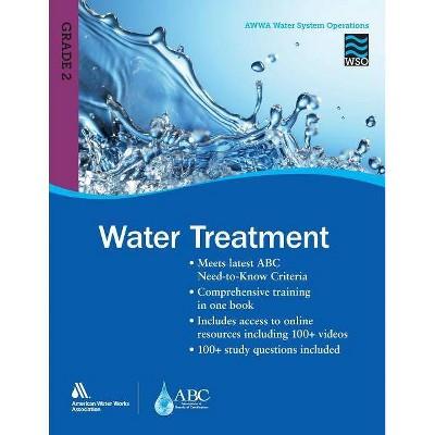 Wso Water Treatment, Grade 2 - by  Awwa (Paperback)