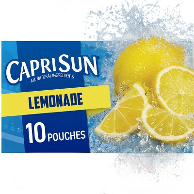 Capri Sun Lemonade Pack - 10pk/6 fl oz Pouches