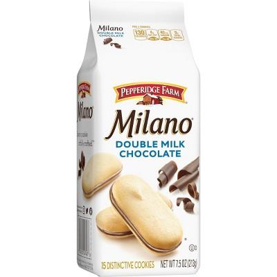 Pepperidge Farm Milano Double Milk Chocolate Cookies - 7.5oz