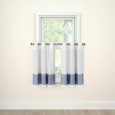 Curtain Tier Stripe Blue - Project 62™