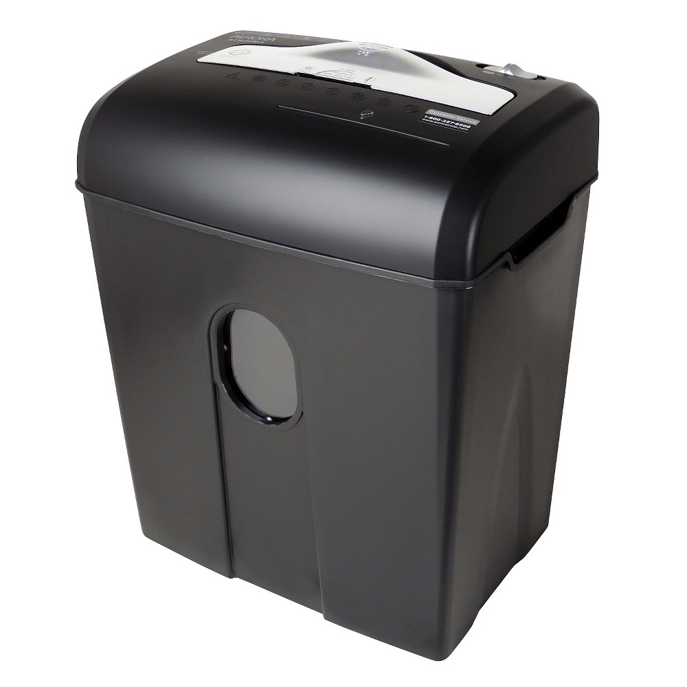 Image of Aurora High Security 8 Sheet Paper/CD Shredder with Wastebasket Black - AU820MA