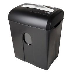 Aurora High Security 8 Sheet Paper/CD Shredder with Wastebasket Black - AU820MA
