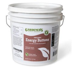 Organic Plant Fertilizer, Energy Buttons, 5 Lbs. - NORTH COUNTRY ORGANICS
