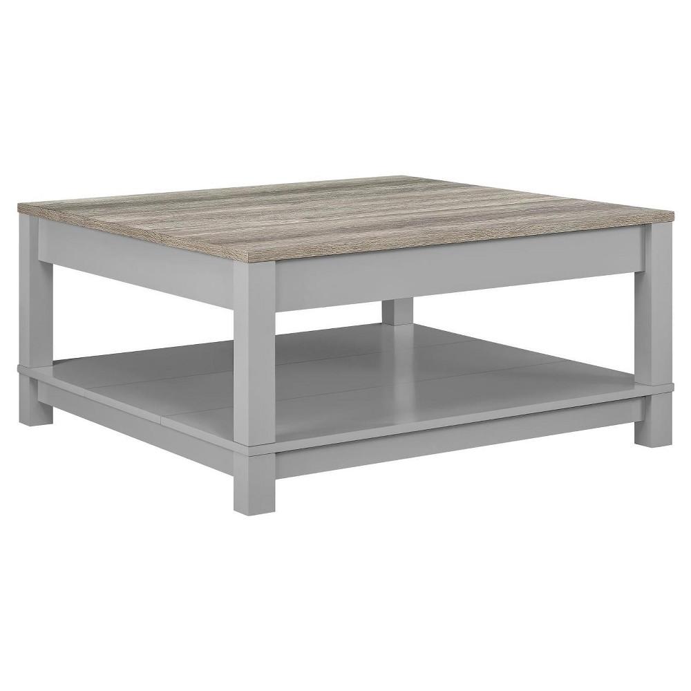 Paramount Coffee Table Gray/Sonoma Oak - Room & Joy