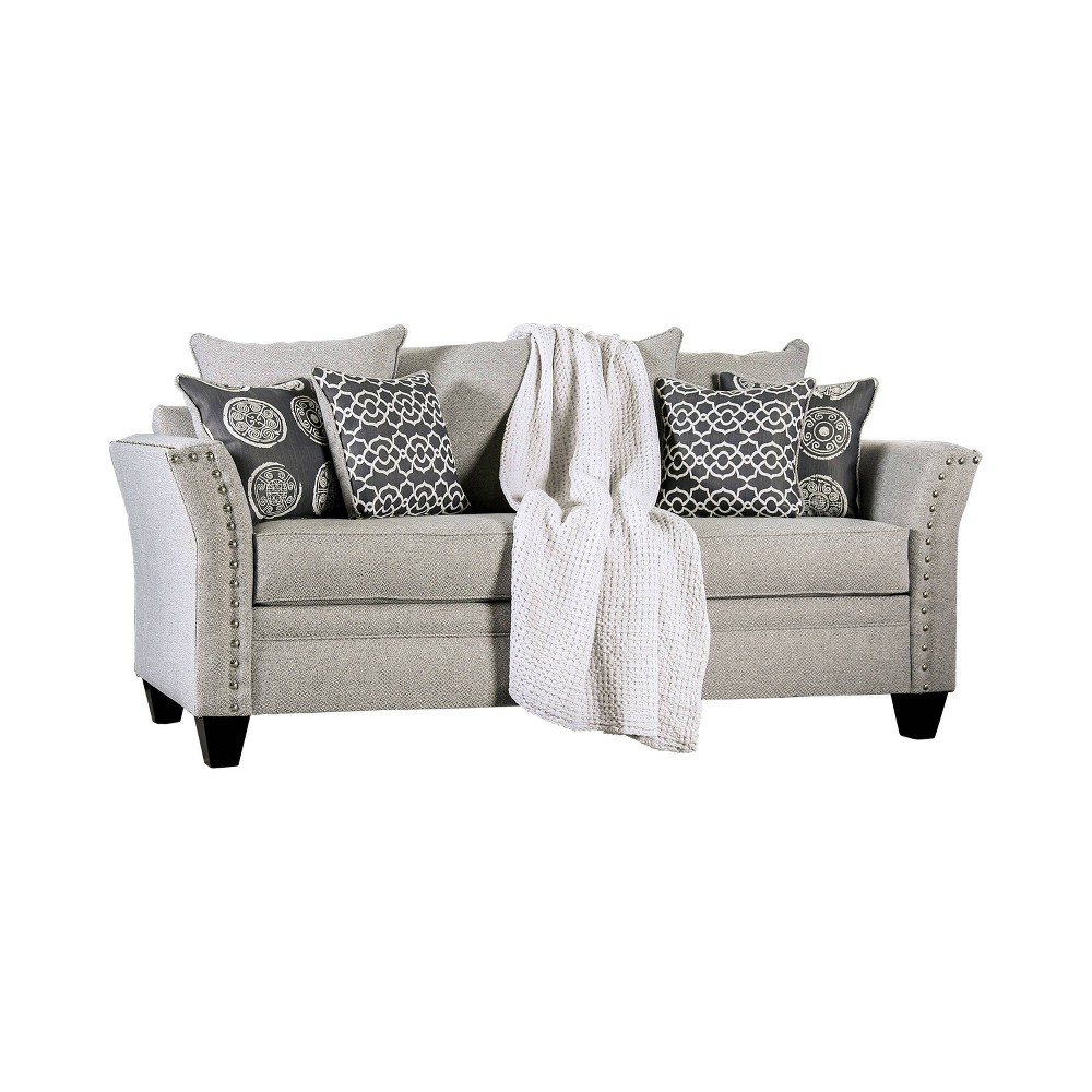 Borego Flared Arm Sofa Gray - Homes: Inside + Out