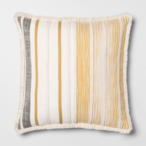 Patched Oversize Throw Pillow - Opalhouse™ - image 1 of 3