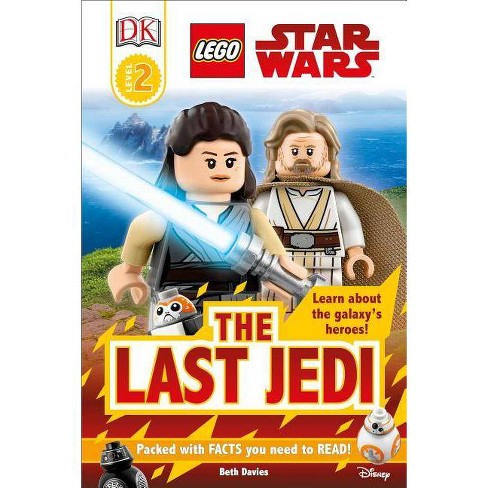 DK Readers L2: Lego Star Wars: The Last Jedi - (DK Readers Level 2) (Hardcover) - image 1 of 1
