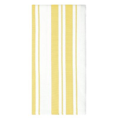 3pk Classic Striped Cotton Towel - MU Kitchen