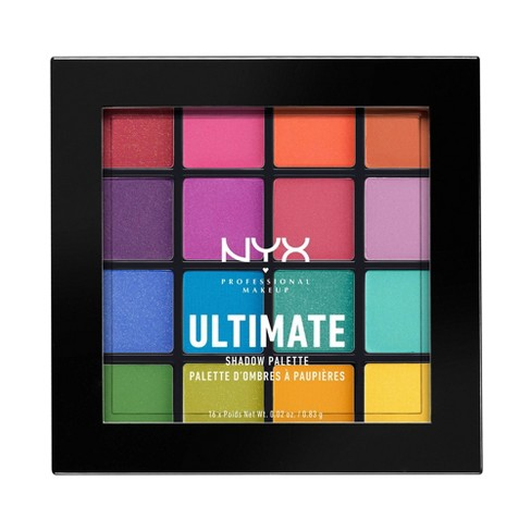 NYX Professional Makeup Ultimate Shadow Palette - 0.02oz - image 1 of 4